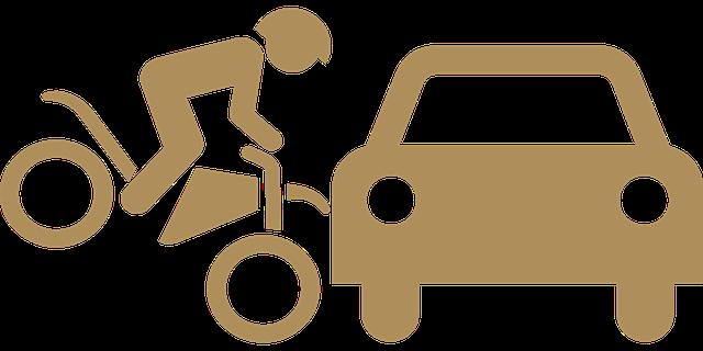 自転車で交通事故に遭った時は…その①(対車の時)
